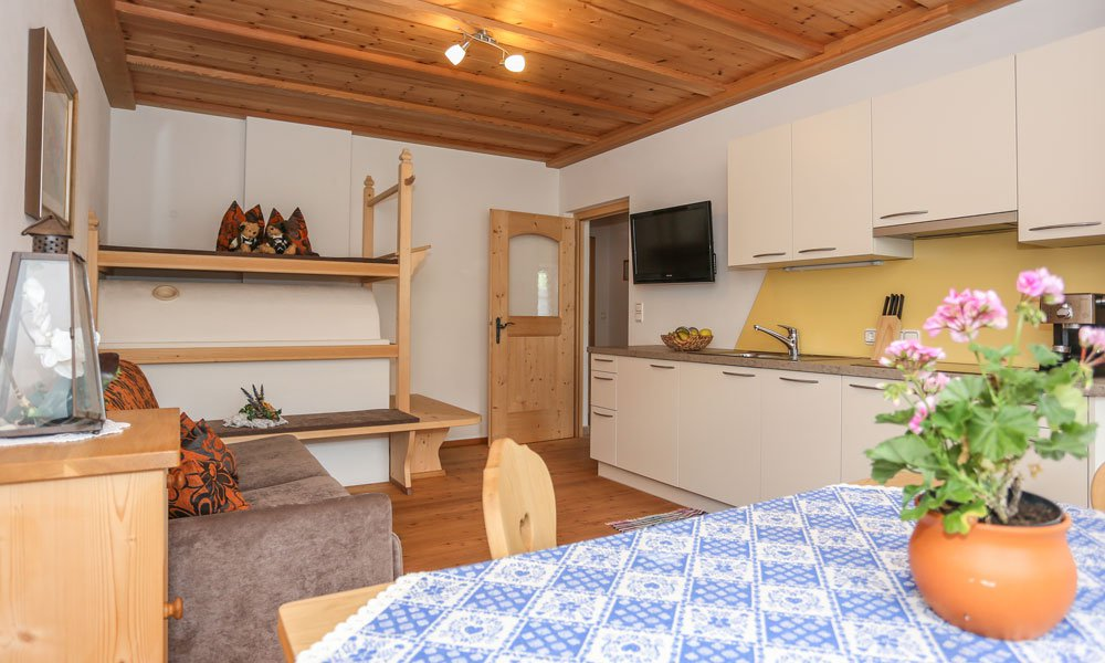 Live in a comfortable apartment at the farm Aichnerhof