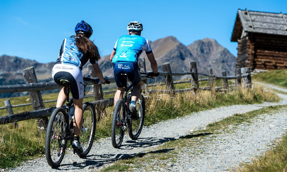 Bicycle tours in the Dolomites on beautiful bike routes