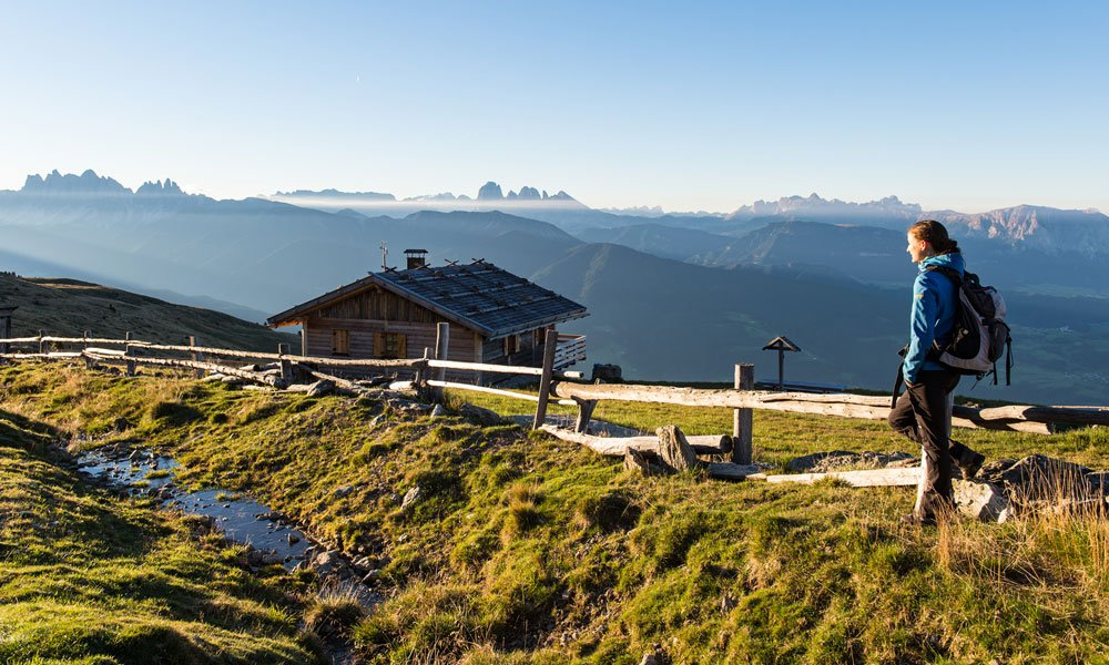 A hiking vacation in South Tyrol offers marvellous views