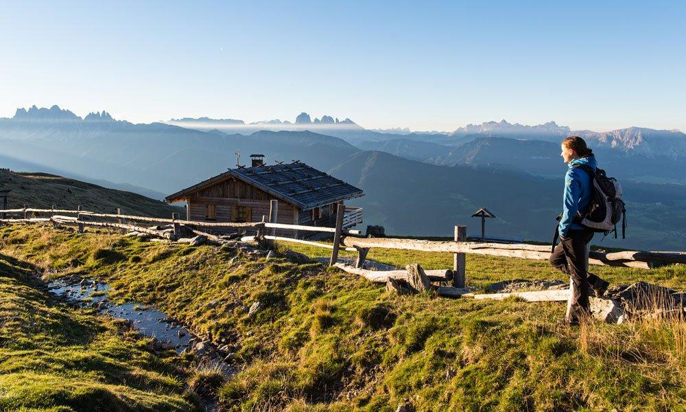 Ihr Wanderurlaub in Südtirol bietet Ihnen herrliche Aussichten